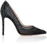 Gianvito Rossi Women's Crystal-Embellished Pumps