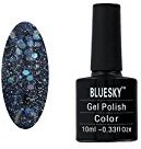 Bluesky Shellac Nails Blz 25 Glitter - Deep Skyline
