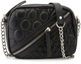Cynthia Vincent Ilka Quilted Crossbody Bag, Black Matte