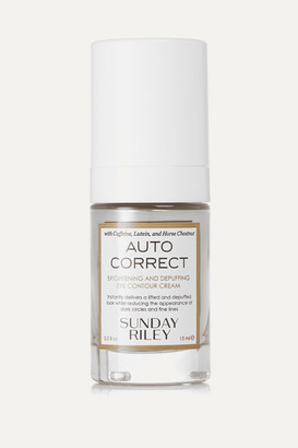 Sunday Riley Autocorrect Brightening And Depuffing Eye Contour Cream, 15ml - Colorless