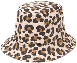 MACKINTOSH Dailly leopard print bucket hat