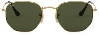 Ray-Ban RB3548 51MM Hexagonal Sunglasses