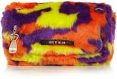 House of Holland Sausage Roll faux fur shoulder bag