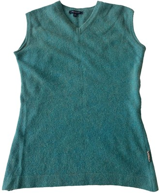 Burberry Green Wool Top for Women