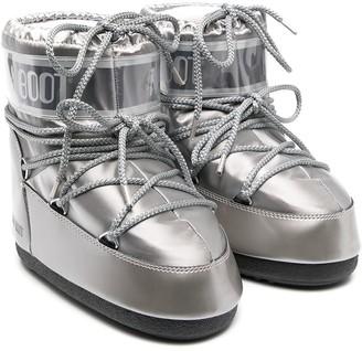 MOON BOOT KIDS Logo Slip-On Snow Boots