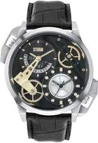 Storm Dualon Leather Watch