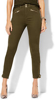 New York & Co. Soho Jeans - High-Waist Ankle Legging - Woodland Green
