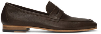 Paul Smith Brown Glynn Penny Loafers