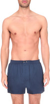 Derek Rose Woburn silk boxers