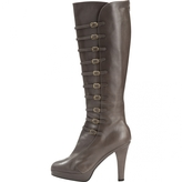 Marc Jacobs Grey Leather Boots