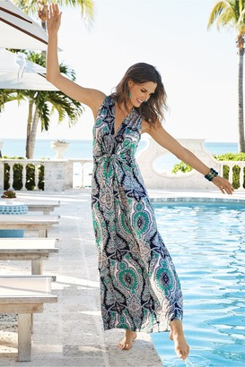 Soft Surroundings Petites Medici Maxi Dress