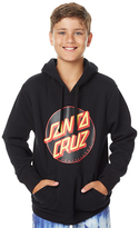 Santa Cruz Kids Boys Other Dot Pop Hoodie Black