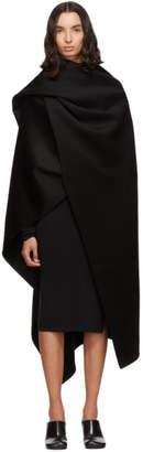 Joseph Black Quadro Double Face Cashmere Coat