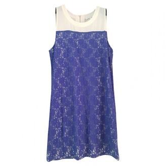 Patrizia Pepe Blue Lace Dress for Women