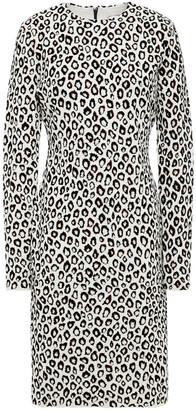 Givenchy Leopard-jacquard Dress