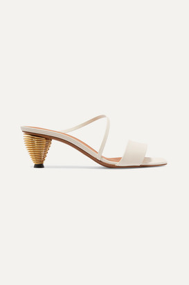Neous Thallis Leather Sandals - Cream