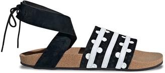 adidas Polka-Dot Print Sandals