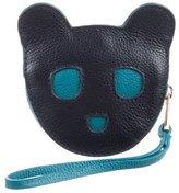 Karen Walker Leather Bear Coin Pouch