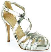 Kate Spade Ginger - Silver Strappy Platform Sandal