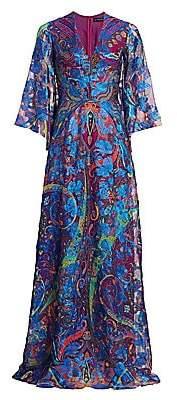 Etro Women's Paisley Lurex Gown