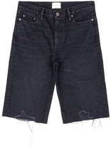 Simon Miller 'Brent' wide leg denim shorts