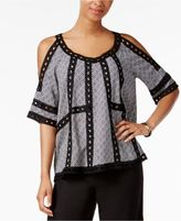 Fever Cold-Shoulder Top