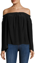 Jay Godfrey Holly Off The Shoulder Top