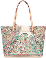 Etro abstract print tote
