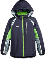 London Fog F.O.G. by Colorblocked Hooded 2-in-1 Systems Jacket, Little Boys (2-7)