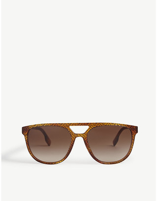 Burberry BE4302 acetate square-frame sunglasses