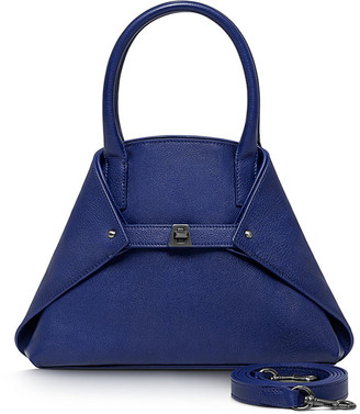 Akris Ai Little Cervo Calf Top-Handle Bag