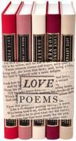 Juniper Books Love Poems Book (Set of 5)