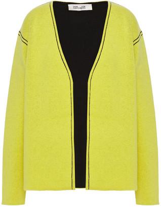 Diane von Furstenberg Chandra Reversible Wool-blend Cardigan
