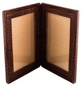 Monica Rich Kosann Embossed Double Picture Frame