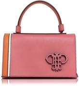 Emilio Pucci Pink Leather Signature Top Handle Handbag