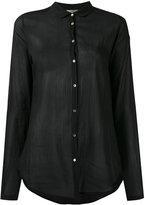 Forte Forte sheer shirt - women - Cotton/Silk - I