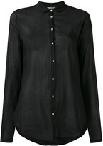 Forte Forte sheer shirt - women - Silk/Cotton - I