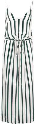 long Elemental Stripe dress