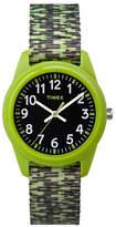 Timex Analog Youth Timex Resin Nylon Band Watch