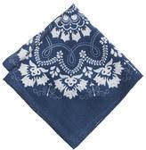 J.Crew Italian cotton pocket square in bandana print