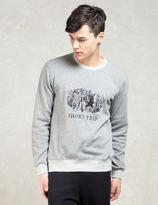 Factotum Grey L/S Short Trip Sweatshirt