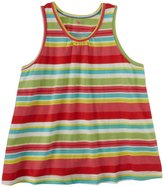 Pink Chicken Tara Top (Toddler/Kid) - Multi Variegated Stripe-6 Years