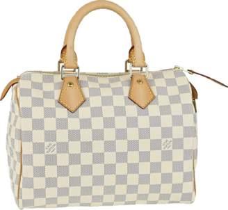 Louis Vuitton Speedy Damier Azur 25 White/Blue