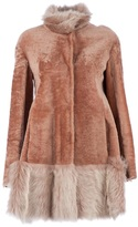 Drome reversible lamb fur coat