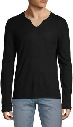 Zadig & Voltaire Graphic Merino Wool Top