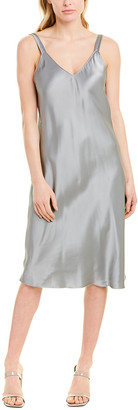 Helmut Lang Double Strap Satin Slip Dress