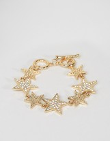 Asos NIGHT Starman Toggle Bracelet