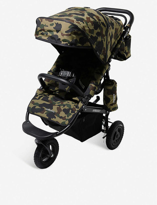A Bathing Ape Airbuggy 1st camo-print nylon stroller