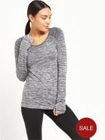 Nike Dri Fit Knit Long Sleeved Top