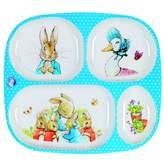 Petit Jour Peter Rabbit Melamine 4 Compartment Tray